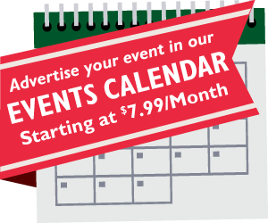 Events Calendar Listing - Starting at $7.99/Month